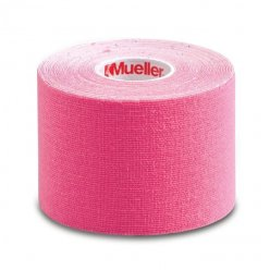 Mueller Kinesiology Tape, růžová tejpovací páska, 5 cm x 5 m