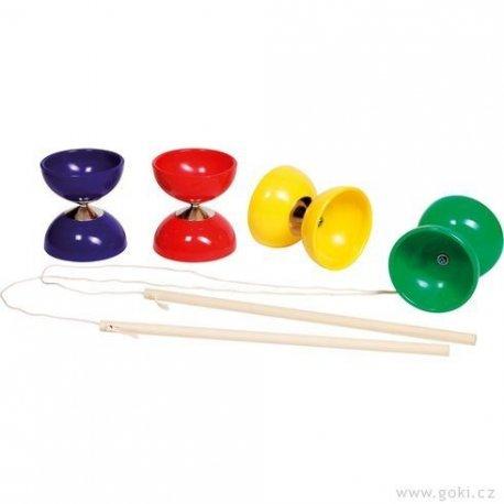 Diabolo - žonglovací pomůcka