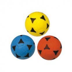 Molitanový soft pěnový míč - 220 mm s prolisem
