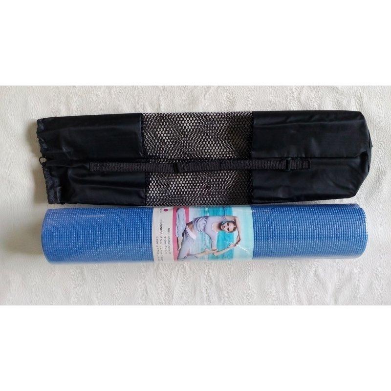 Yoga cvičební podložka 6 mm s obalem - různé barvy