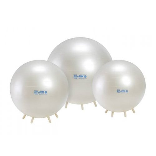Sit'n'Gym 75 cm - GYMNIC - sedací míč - perleťový