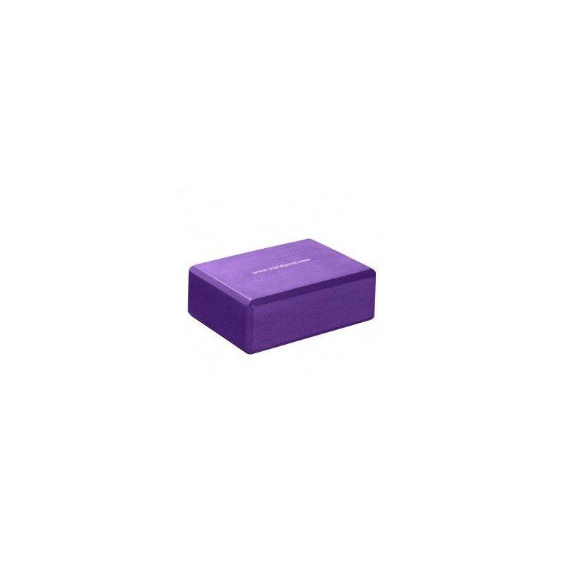 TRENDY SPORT Yoga Block podkládací kvádr - 10 cm - fialová