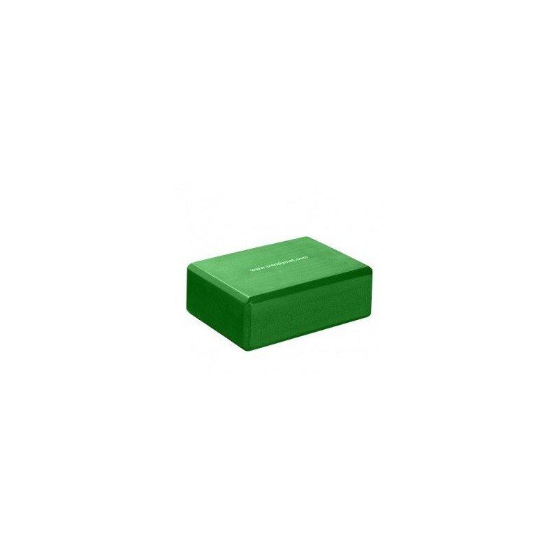 TRENDY SPORT Yoga Block podkládací kvádr - 7,5 cm - zelená