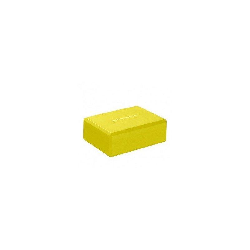 TRENDY SPORT Yoga Block podkládací kvádr - 7,5 cm - žlutá