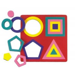 Geometrické tvary vkládací