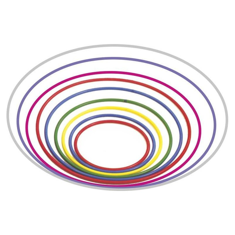 Obruč gymnastická AB plast 70cm