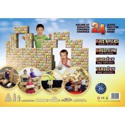 Cihličky - velká dětská stavebnice - 24 ks nebo 48 ks