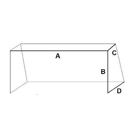 Síť kopaná 3x2x0.8x1.2m / 4mm Mini4