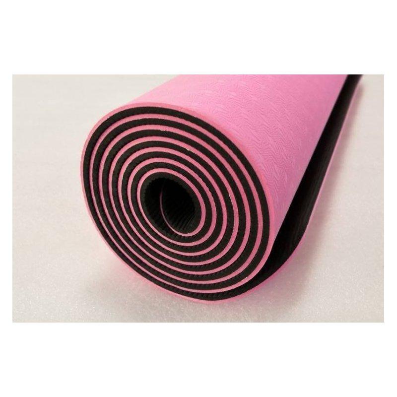 TPE yoga mat PROFI long 181cm nesmekavá