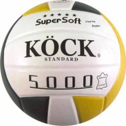 Volejbalový míč STANDARD KÖCK pravá kůže 5000 super soft