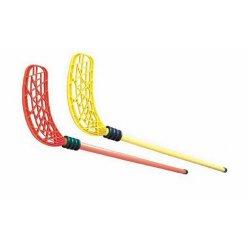 Florbalová hokejka s gumovým chráničem