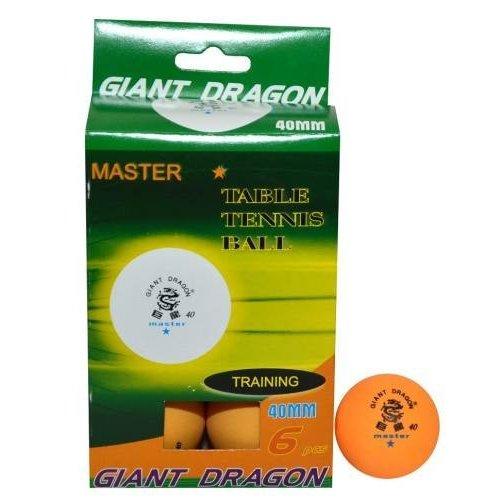 Míčky stolní tenis Dragon Master 1* oranžové