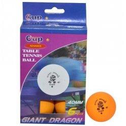 Míčky stolní tenis Dragon 621 CUP 1* pp míčky