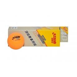 Míčky stolní tenis DHS tři hvězdičky žluté
