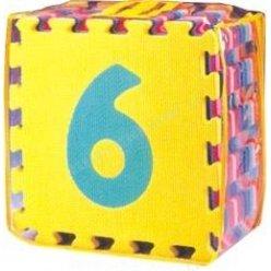 Čísla 0-9 desky 30 x 30 cm, 10 ks