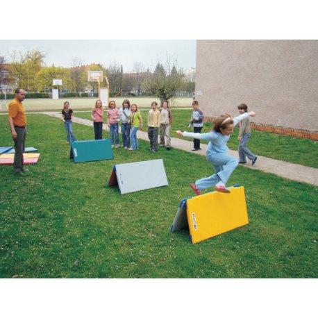 JIPAST Sada školních žíněnek - venkovní 10 ks