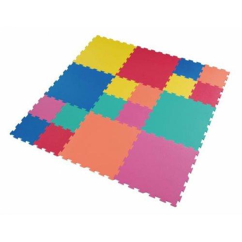 Velké podlahové puzzle EVA pěna 180 x 180 cm Set FM604+946