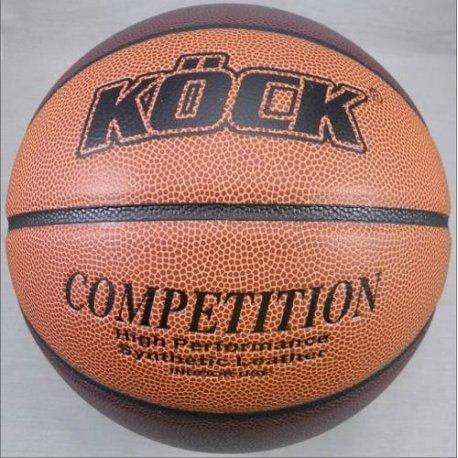 Míč košíková Competition KÖCK basketball 7 orange s.kůže