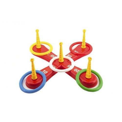 Házecí hra kříž s kruhy - házecí kruhy