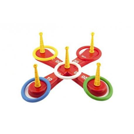 Házecí hra kříž s kruhy