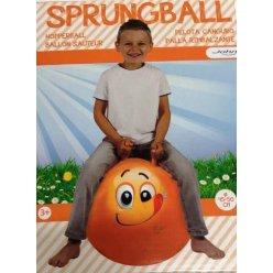 Skákací míč - Hop - Veselý obličej 45-50 cm - JOHN - varianty