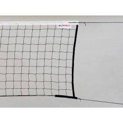 Síť volejbal s lankem černá