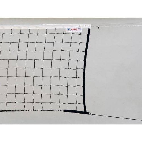 Síť volejbal s lankem černá STANDARD